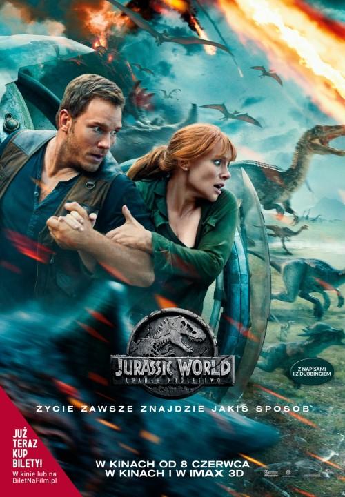 Jurassic World: Upadłe królestwo / Jurassic World: Fallen Kingdom (2018) PL.IVO.720p.HC.HDRip.XviD-SP [Lektor PL-IVO]