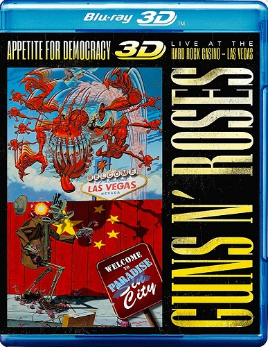 Guns N' Roses: Appetite for Democracy – Live at the Hard Rock Casino, Las Vegas 3D (2014) [Blu-Ray 3D 1080p]