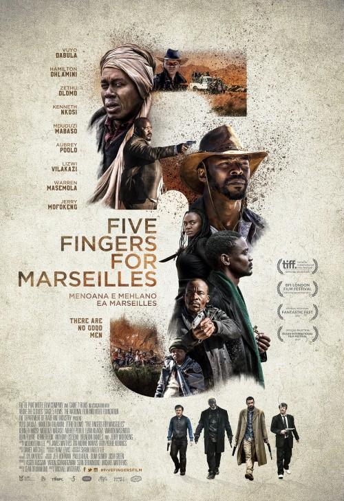 Pięć Palców dla Marsylii / Five Fingers For Marseilles (2017) PL.WEB.x264-J / Lektor PL