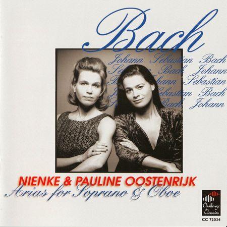 Nienke & Pauline Oostenrijk - J.S. Bach: Arias for Soprano & Oboe (2001) [FLAC]