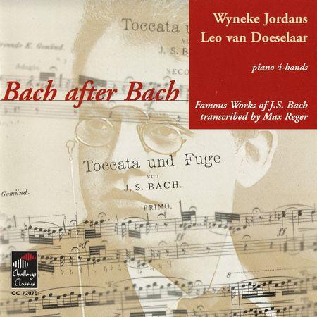 Wyneke Jordans, Leo van Doeselaar - Bach after Bach: Piano-4 Hands (1998) [FLAC]