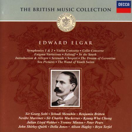 VA - Elgar: Orchestral & Choral Works, Concertos (8 CD) (2002) [APE]