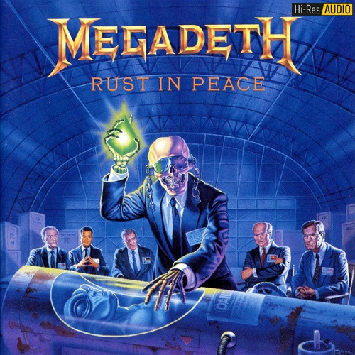 Megadeth - Rust In Peace (1990/2016) [FLAC 192 kHz/24 Bit]