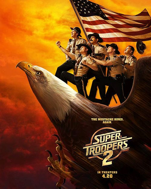 Straż wiejska 2 / Super Troopers 2 (2018) PL.BDRip.XviD-KiT / Lektor PL