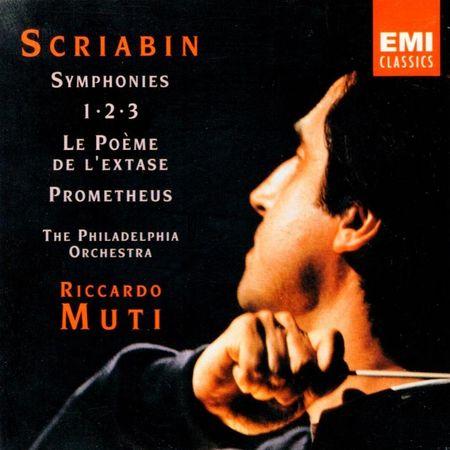 Riccardo Muti - Scriabin: Symphonies 1-2-3 (1991) [FLAC]