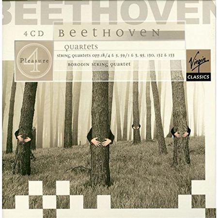 Borodin String Quartet - Beethoven:String Quartets (4 CD) (2003) [FLAC]