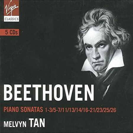 Melvyn Tan - Beethoven: Piano Sonatas (5 CD) (2004) [FLAC]