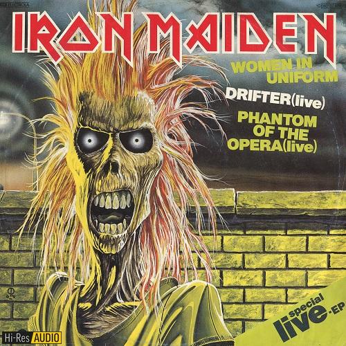 Iron Maiden - Women In Uniform (EP) (1980) [FLAC 96 kHz/24 Bit]