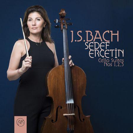 Sedef Ercetin - J.S. Bach: Cello Suites Nos. 1,2,3 (2018) [FLAC]