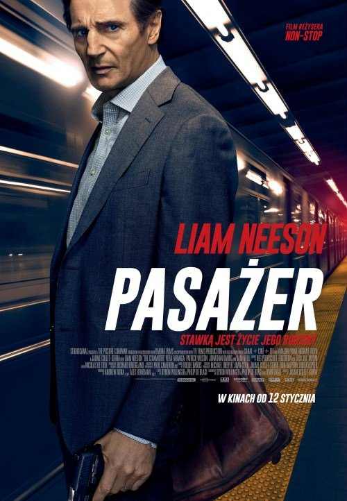 Pasażer / The Commuter (2018)  PL.BDRip.Xvid-KiT  Lektor PL