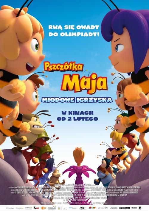 Pszczółka Maja: Miodowe igrzyska / Maya the Bee: The Honey Games (2018)  PLDUB.BDRip.x264-MAXiM / Dubbing PL