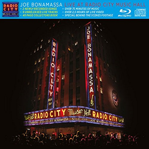 Joe Bonamassa - Live at Radio City Music Hall (2015) [Blu-ray 1080p]