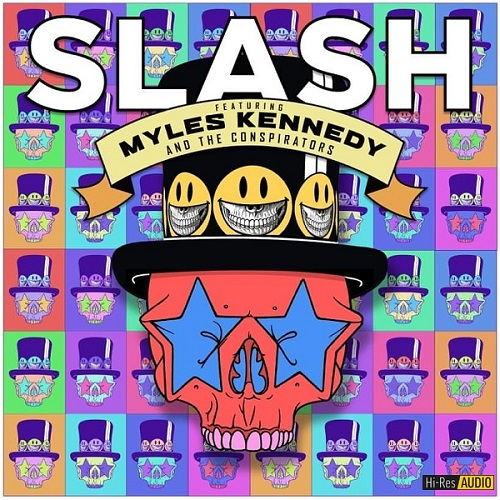 Slash - Living The Dream (feat. Myles Kennedy & The Conspirators) (2018) [FLAC 48 kHz/24 Bit]