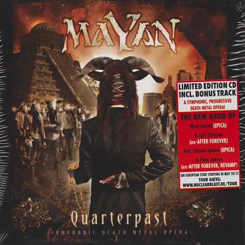 MaYaN - Quarterpast (Limited Edition) (2011) [FLAC]