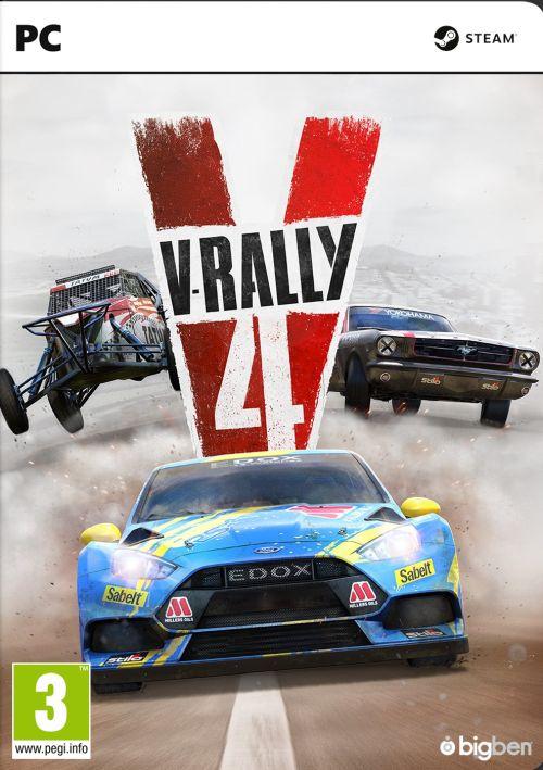 V-Rally 4 (2018) CODEX / Polska wersja językowa