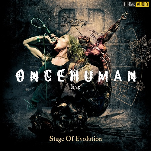 Once Human - Stage of Evolution (Live) (2018) [FLAC 48 kHz/24 Bit]