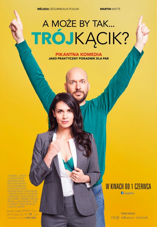 A może by tak trójkącik? / Threesome / Le trip a trois (2017) PL.WEB-DL.XviD-KiT / Lektor PL