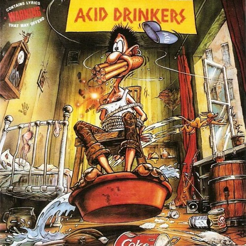 Acid Drinkers - Are You A Rebel (1990) [FLAC]