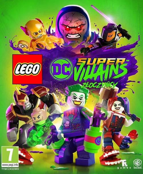 LEGO DC Super-Złoczyńcy / LEGO DC Super-Villains (2018) CODEX / Polska wersja językowa