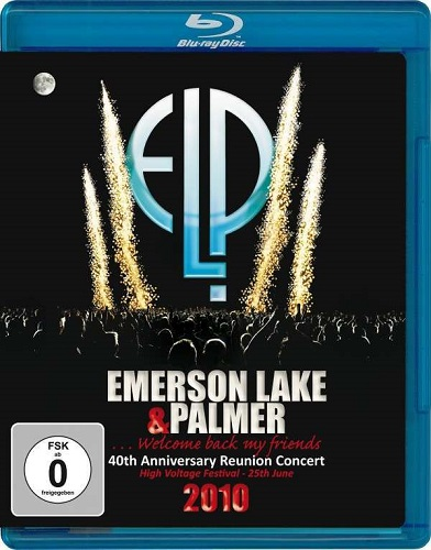 Emerson Lake & Palmer - 40th Anniversary Reunion Concert 2010 (2011) DTS/JC [BDrip 720i]