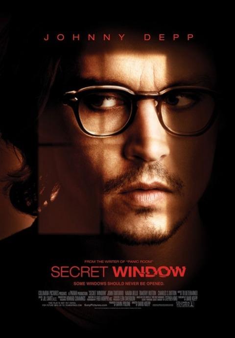 Sekretne okno / Secret Window (2004) PL.480p.BRRip.XviD.AC3-SPEC [Lektor PL]