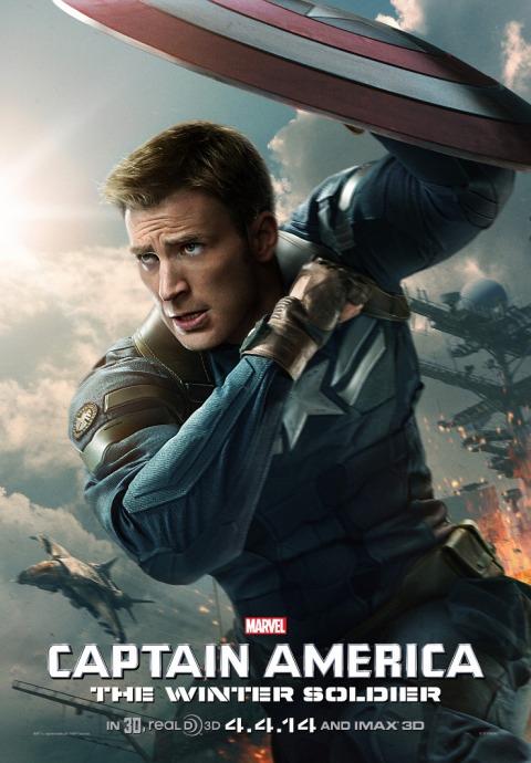 Kapitan Ameryka: Zimowy żołnierz / Captain America: The Winter Soldier (2014) PL.480p.BRRip.XviD.AC3-SPEC [Lektor PL]