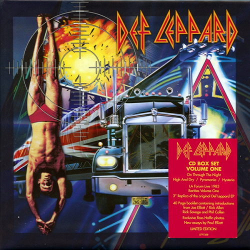 Def Leppard - CD Collection Volume 1 (2018) [FLAC]