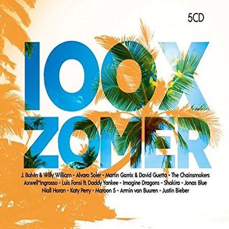 VA - 100x Zomer 2018 (5 CD) (2018) [FLAC]