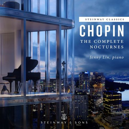 Jenny Lin - Chopin: The Complete Nocturnes (2018) [FLAC]