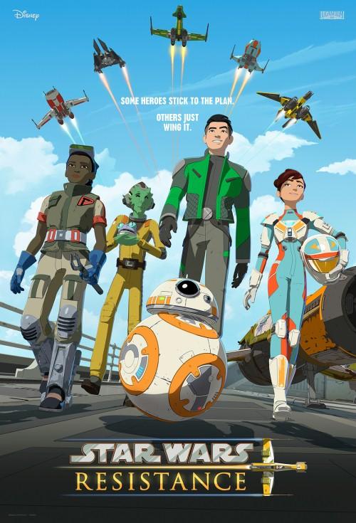 Gwiezdne wojny: Ruch oporu / Star Wars Resistance (2018) {Sezon 1} PLDUB.720p.DSNY.WEB-DL.x264-J / Dubbing PL
