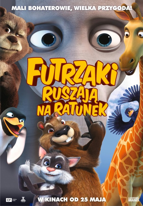 Futrzaki ruszaja na ratunek / Two Tails / Dva khvosta (2018) PLDUB.DVDRip.XviD-KiT / DUBBING PL