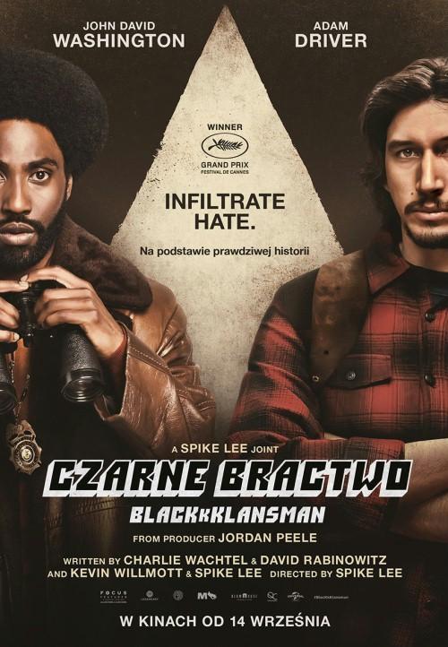 Czarne bractwo. BlacKkKlansman / BlacKkKlansman (2018) PL.BDRip.XviD-KiT / Lektor PL