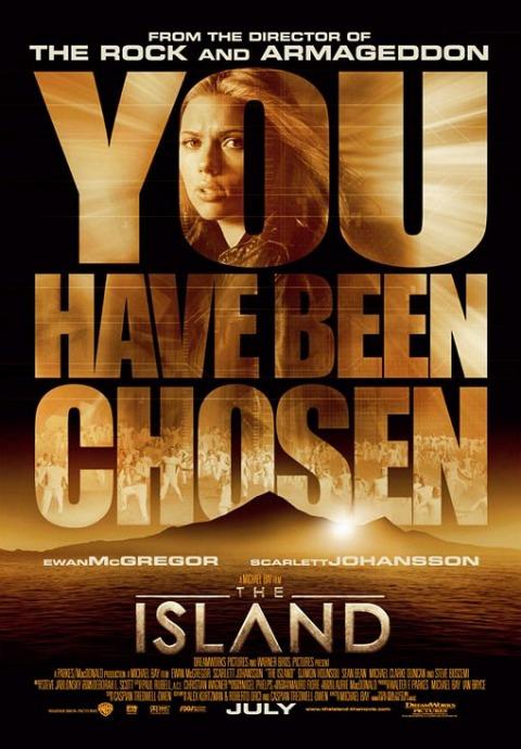 Wyspa / The Island (2005) PL.720p.BRRip.XviD.AC3-SPEC [Lektor PL]