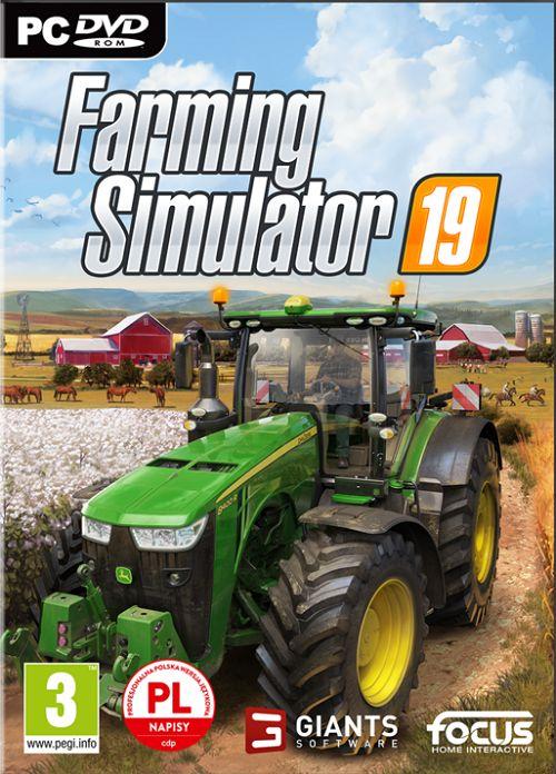 Farming Simulator 19 (2018) CODEX / Polska wersja językowa