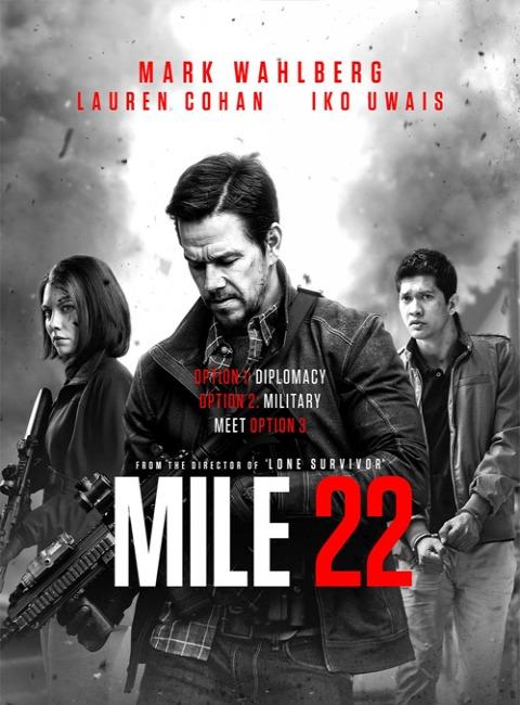 Eskorta / Mile 22 (2018) PL.480p.BRRip.XviD.AC3-SPEC [Lektor PL]