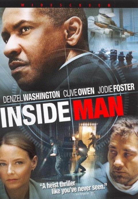 Plan doskonały / Inside Man (2006) PL.720p.BRRip.XviD.AC3-SPEC [Lektor PL]