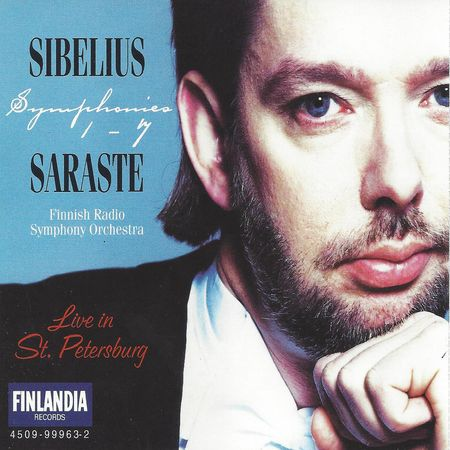 Jukka-Pekka Saraste - Sibelius: Symphonies 1-7 (1995) [FLAC]