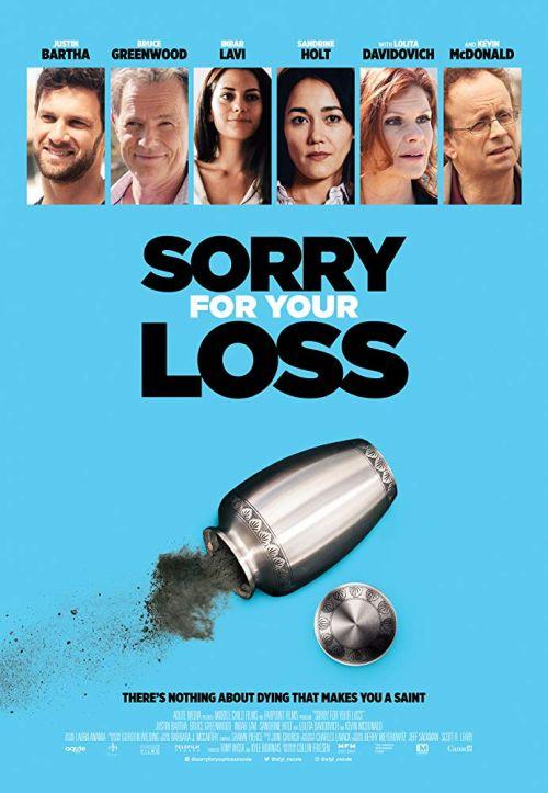 Kłopotliwa żałoba / Sorry for Your Loss (2018) PL.WEB-DL.XviD-KiT / PL Lektor